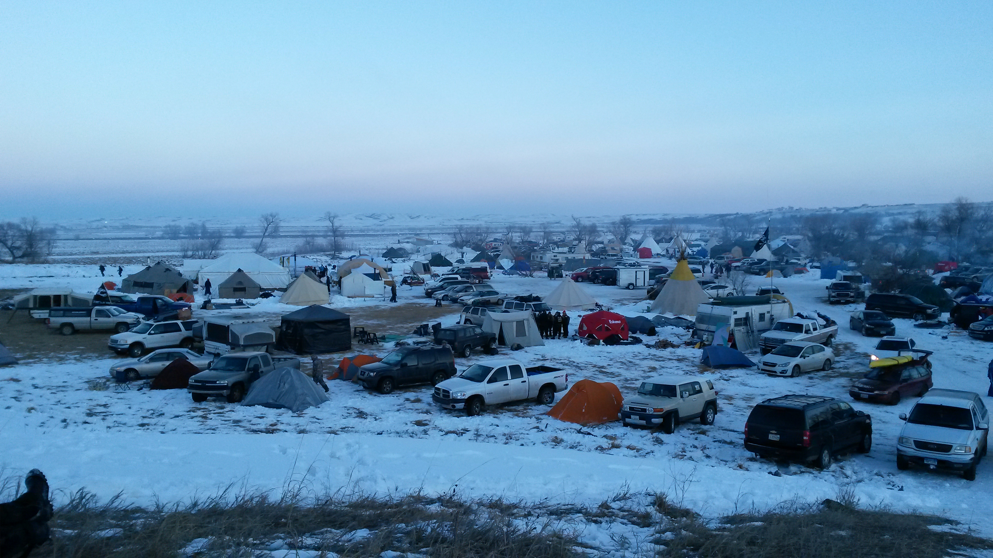 a tiny part of the camp
